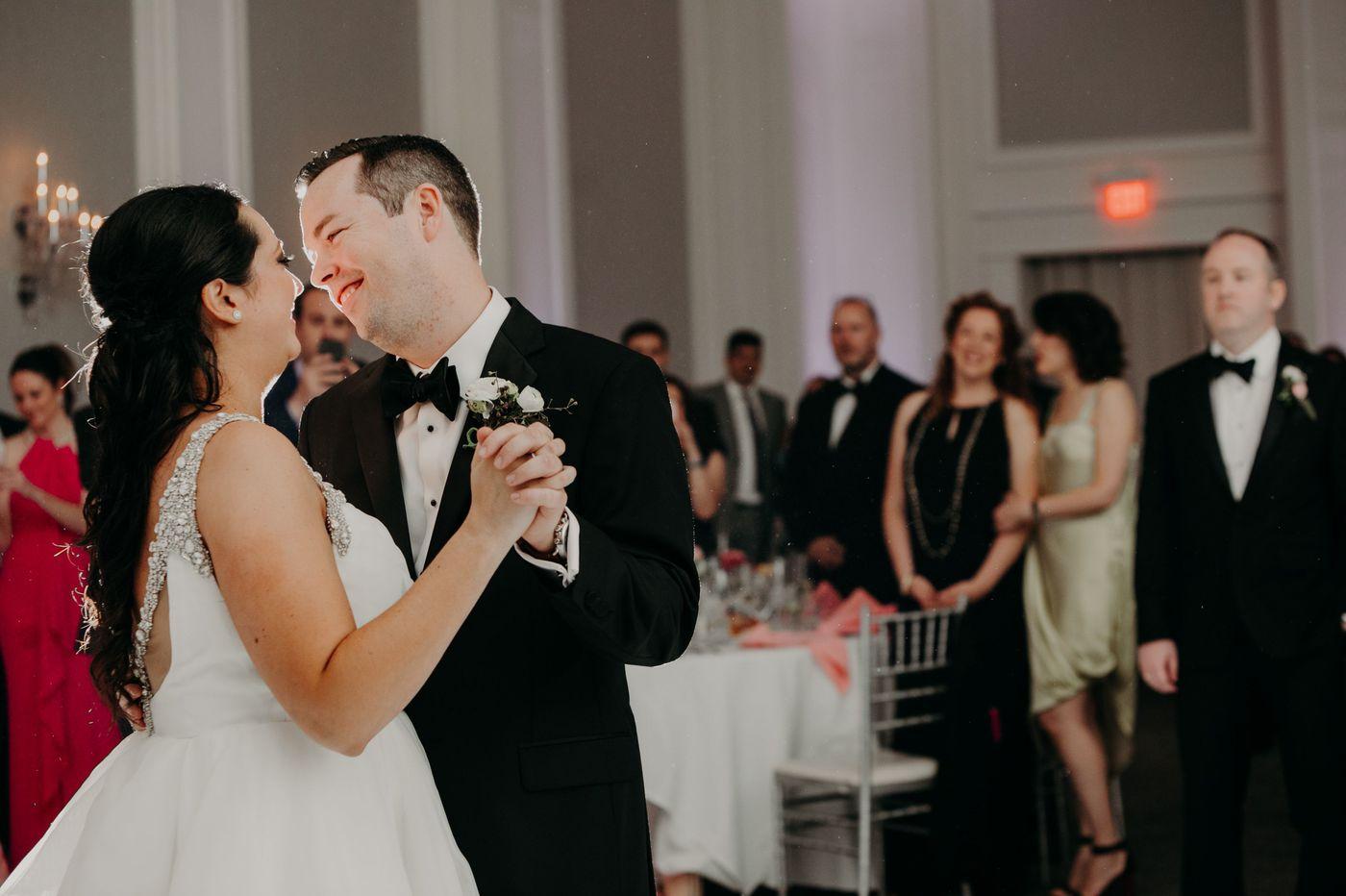 Philadelphia weddings: Michelle Robertson and Gavan Dunleavy