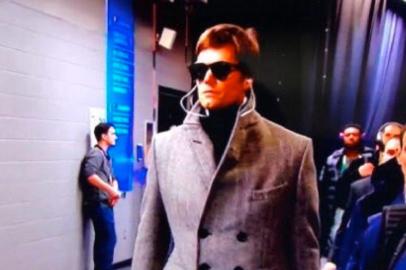 Tom Brady mocked over his 2018 Super Bowl outfit