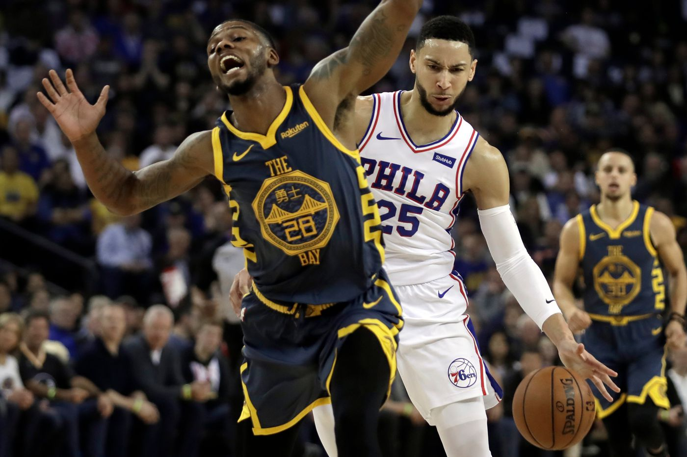 Sixers-Warriors observations: Ben Simmons' swagger, bench players