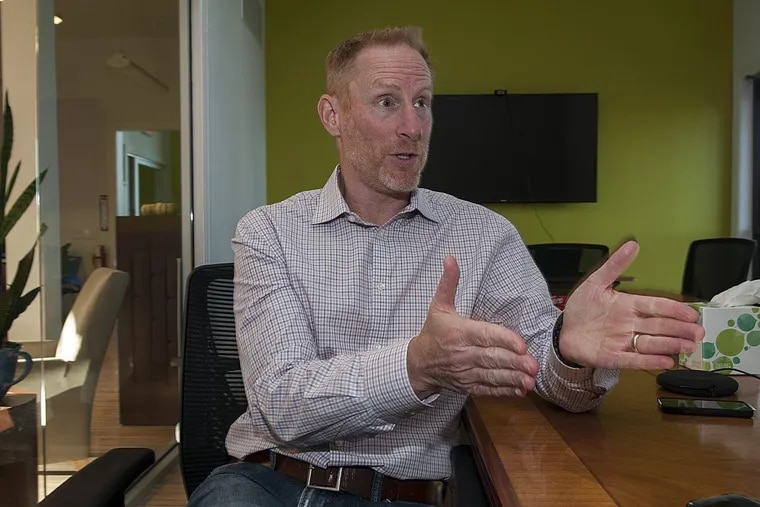 Jay Coen Gilbert, former CEO of the basketball footwear and apparel company AND 1, now helps companies improve their corporate scores in good employment practices and environmental sustainability — part of the mission of the venture he co-founded, B Lab,  headquartered in Berwyn.