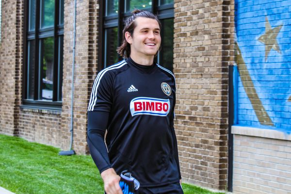 Union sign Charlie Lyon as emergency goalkeeper with Andre Blake and Matt Freese injured