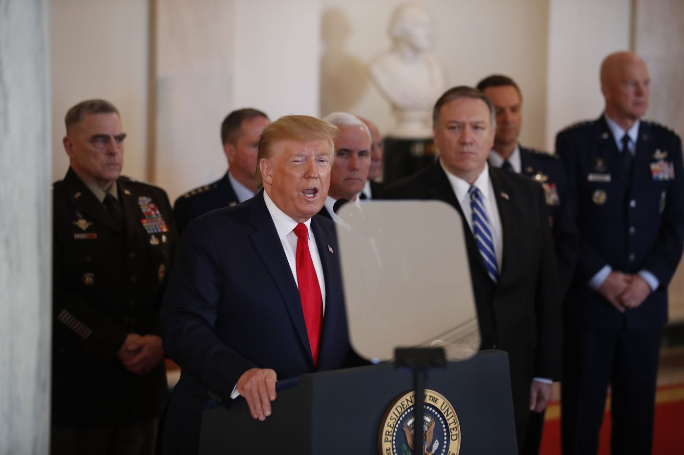 U.S., Iran step back from the brink of war; Middle East still on edge
