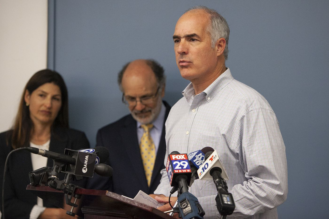 Sen. Bob Casey demands more accountability after Pa. grand jury report on clergy sex abuse