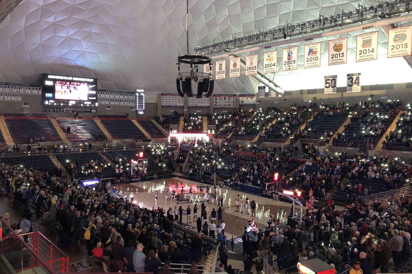 Jefferson University women's basketball hits the big time in preseason game at UConn | Mike Jensen