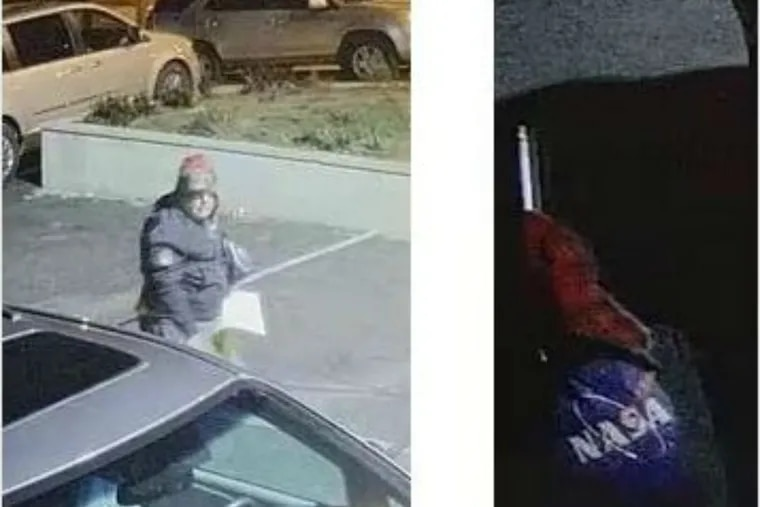 This man wanted for leaving offensive signs in Upper Darby.