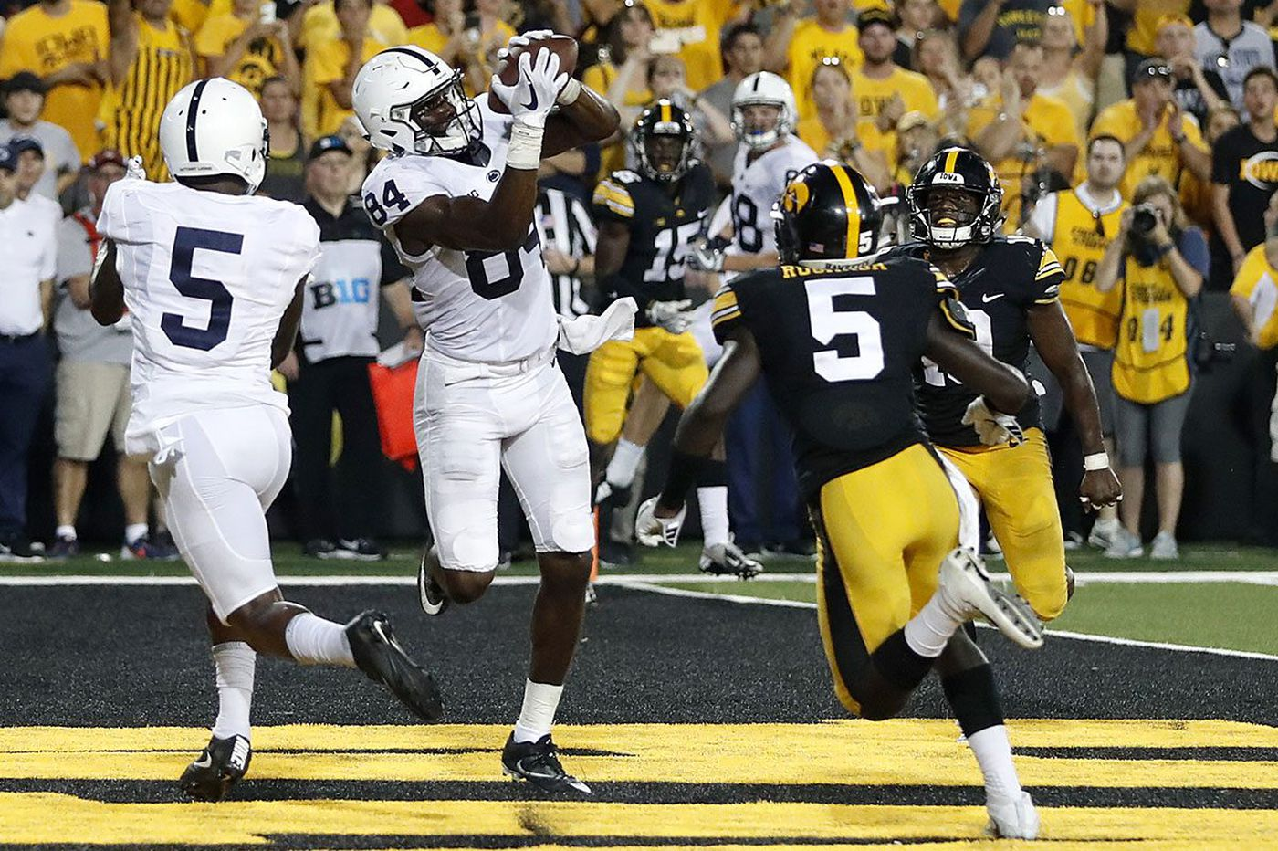 Penn State wide receiver Juwan Johnson likely to transfer