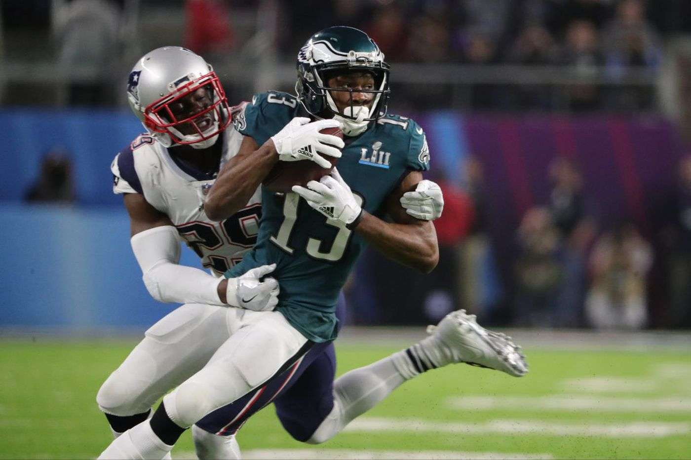 Eagles exercise Nelson Agholor's fifth-year contract option