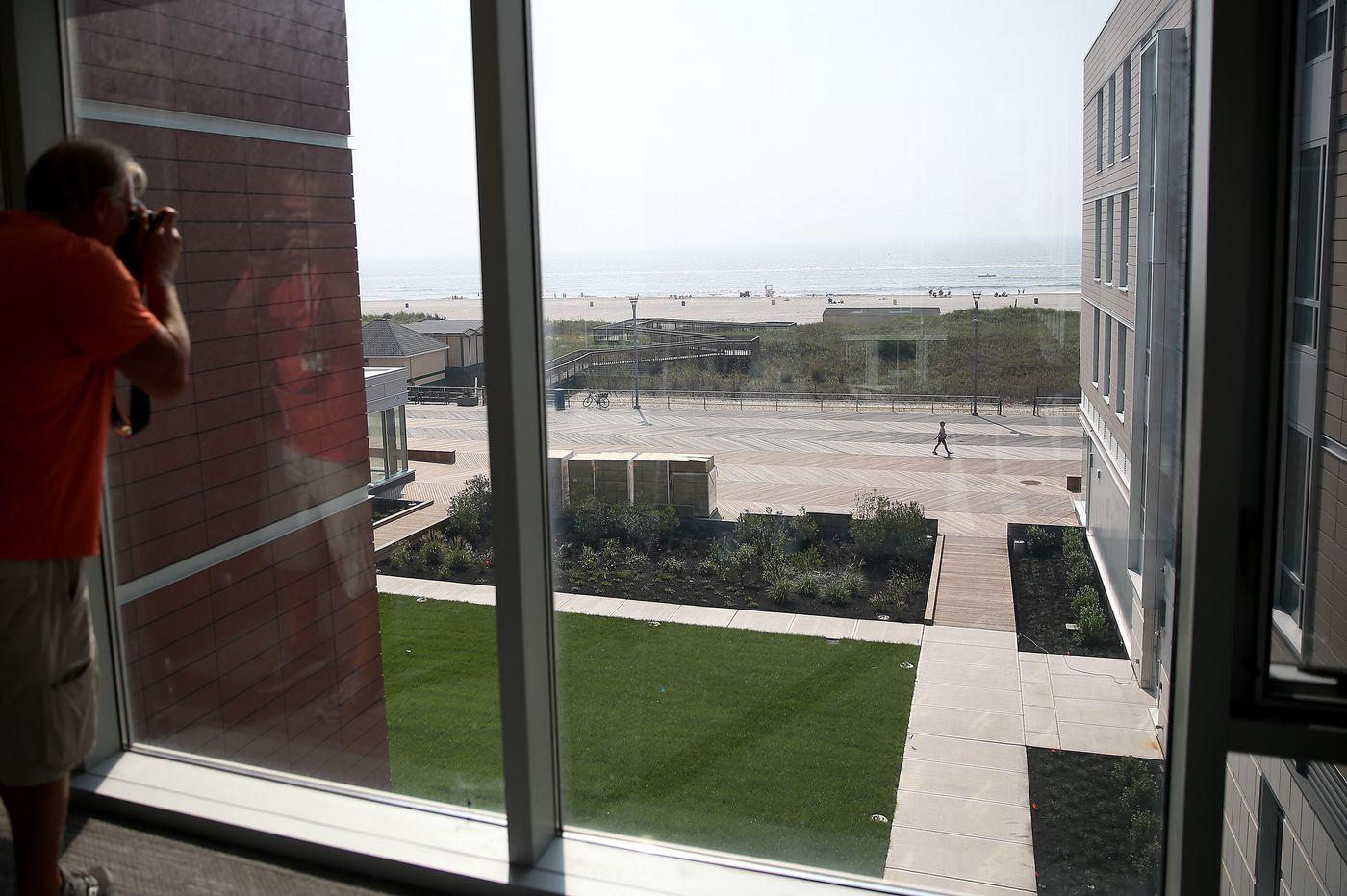 Stockton U. opens oceanfront dorm, campus in Atlantic City