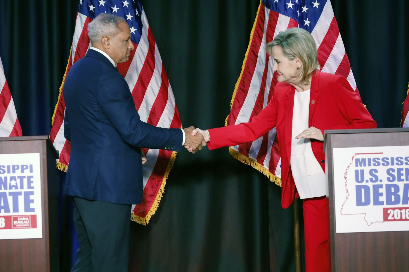 Democrats push to mobilize black voters in Mississippi Senate runoff between Cindy Hyde-Smith and Mike Espy