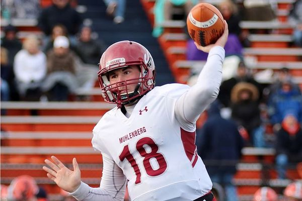 Former Penn Charter quarterback Michael Hnatkowsky leads Muhlenberg College to NCAA Division III semifinals