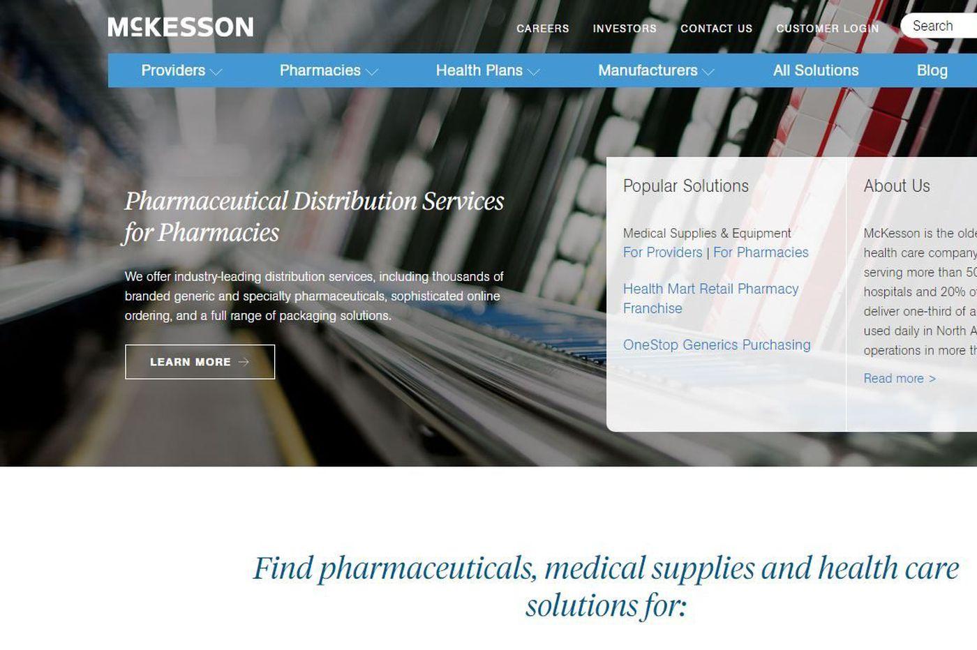 McKesson closing Delran drug distribution center, 102 jobs eliminated