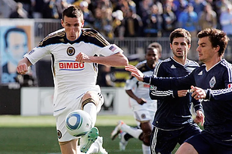 The Union are 2-3-1 on the road while being 4-0-2 at home. (Tom Mihalek/AP file photo)