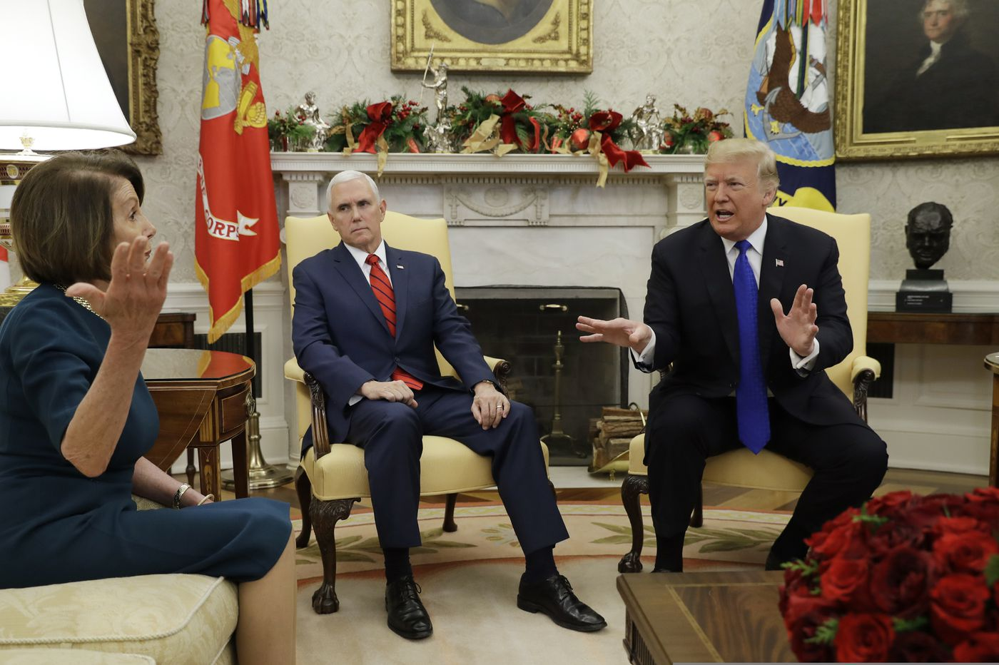 Trump Fights With Pelosi And Schumer At White House Over
