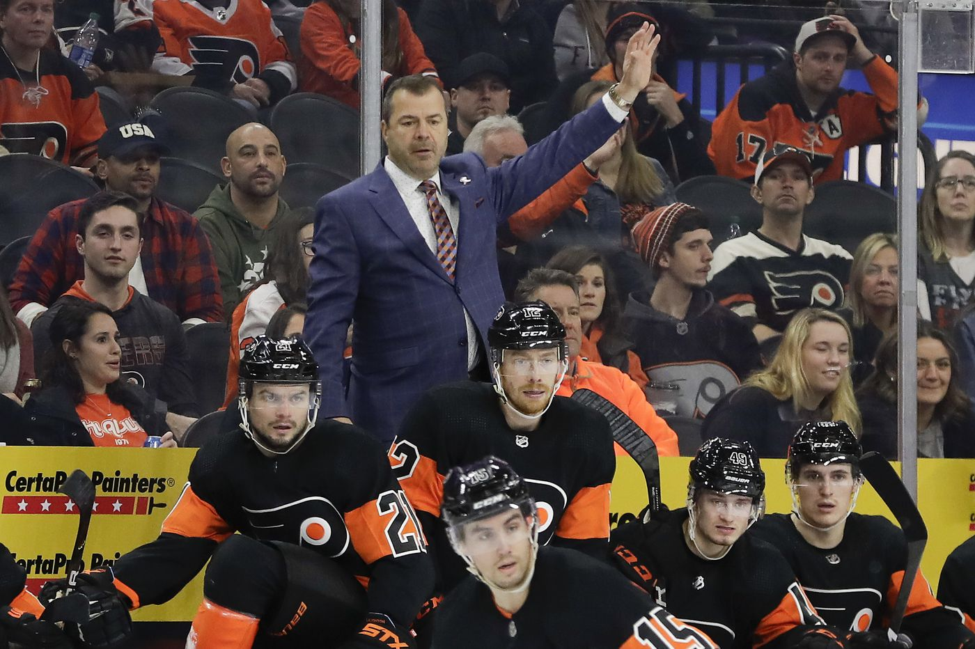 Tone-deaf Flyers coach Alain Vigneault scolds critics for questioning his ignorance, then runs away | Marcus Hayes