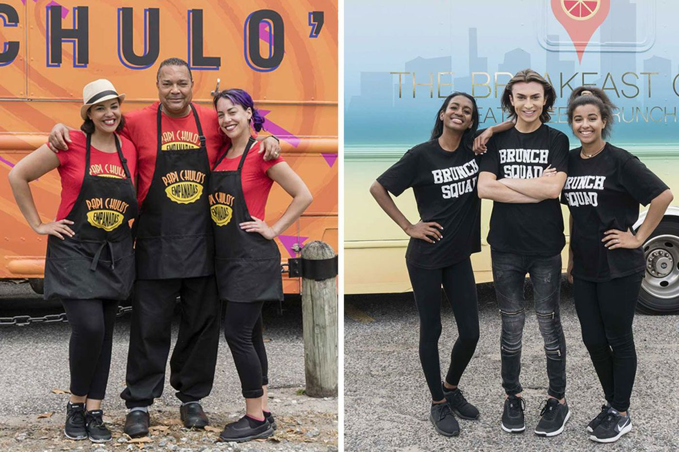 2 Philly-area teams on 'Great Food Truck Race'