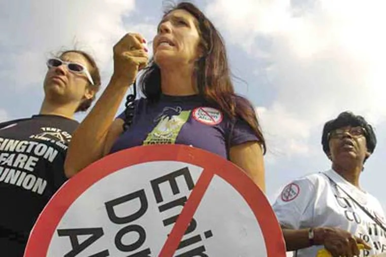 """""""It's not just about housing anymore,"""" activist Cheri Honkala says. """"We need to find ways to feed our people."""""""