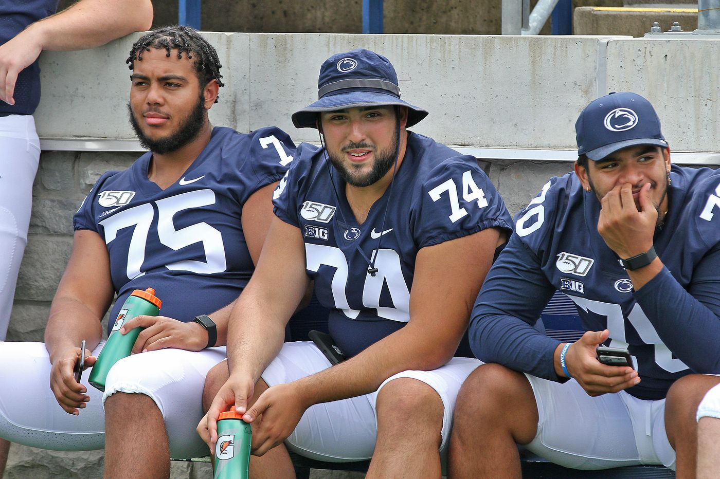 Penn State braces for different faces on the offensive line