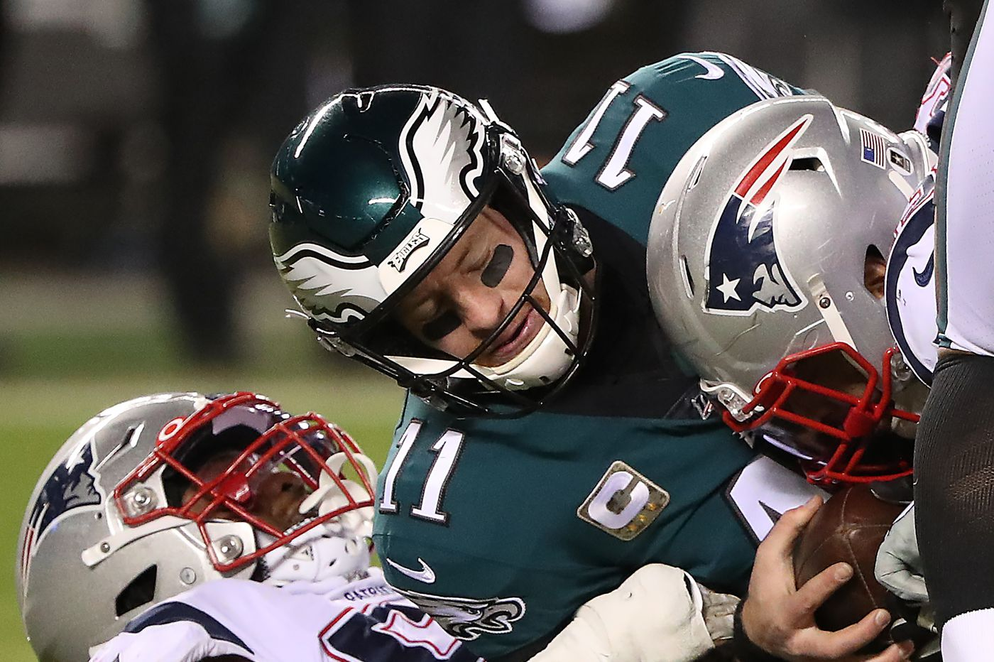 Valid excuses aside, Carson Wentz still came up short in Eagles' loss to the Patriots | Jeff McLane