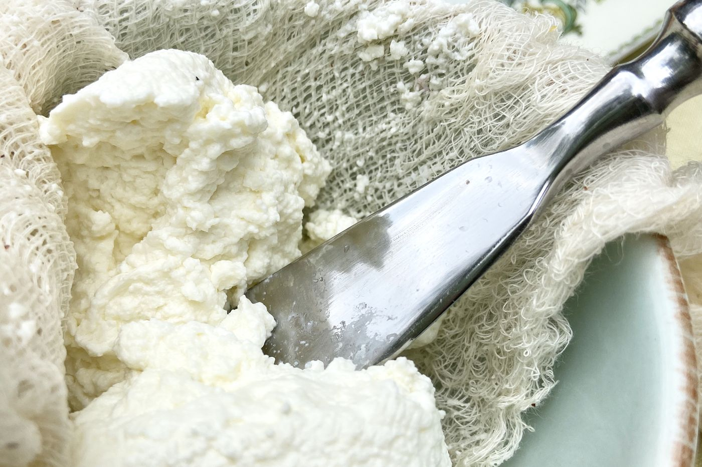 If a recipe calls for ricotta, you can make it at home
