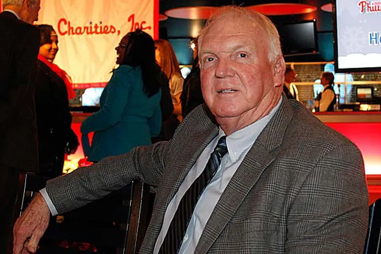 """""""Of course I want [Ruben Amaro] to get something big. At the same time, I think we've gotten much better."""" said Charlie Manuel. (Yong Kim/Staff Photographer)"""