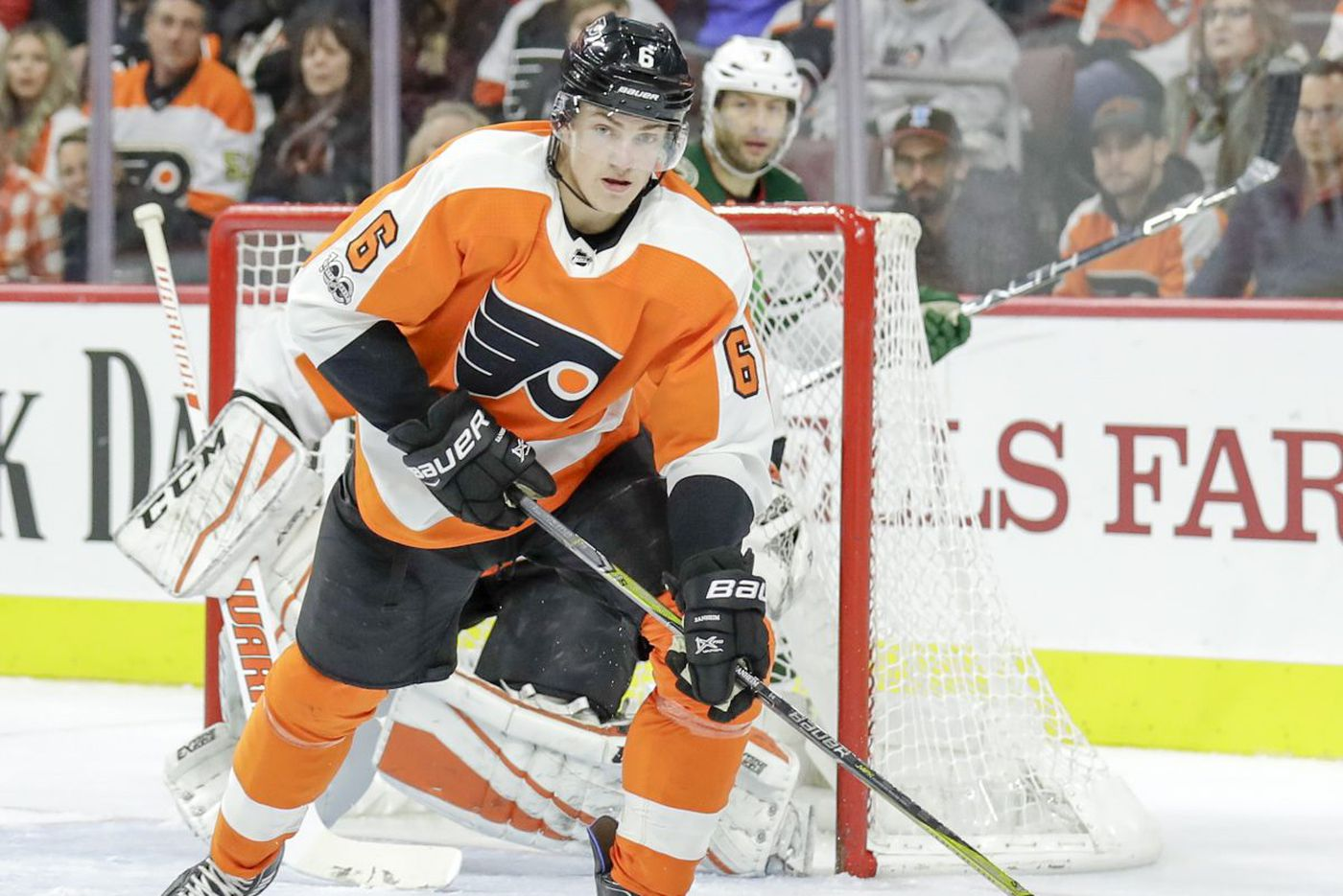 Travis Sanheim's solid return a sign of things to come for Flyers?