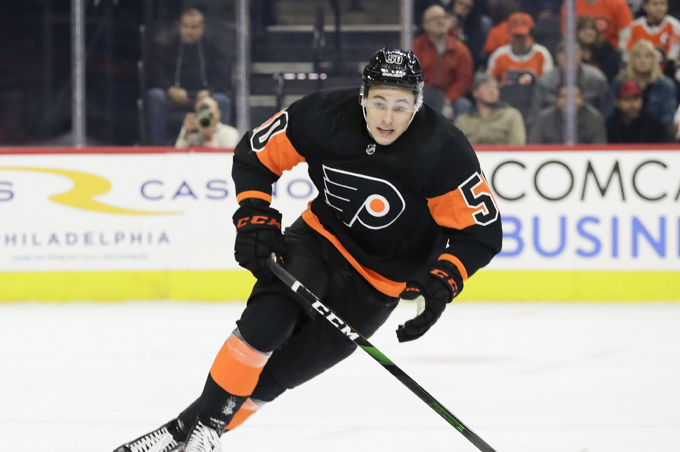 Flyers prospect continues to lead Ohio State; German Rubtsov in lineup vs. Penguins