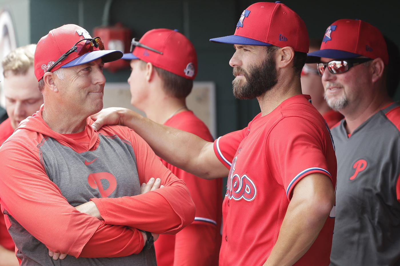 Phillies pitching coach Bryan Price absent from Saturday's game, following MLB's coronavirus protocols