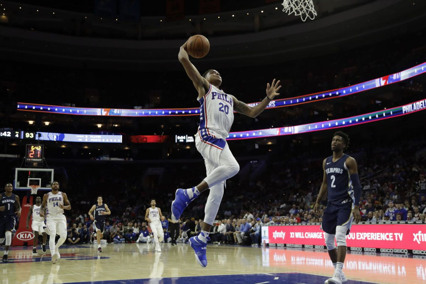 Five observations from Sixers' preseason loss to Grizzlies