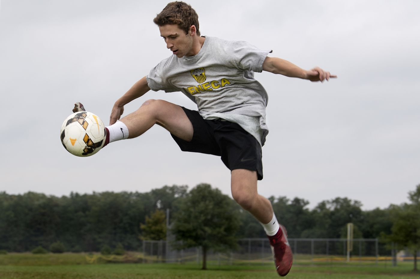 Luke Leach and the Seneca soccer team are on the rise