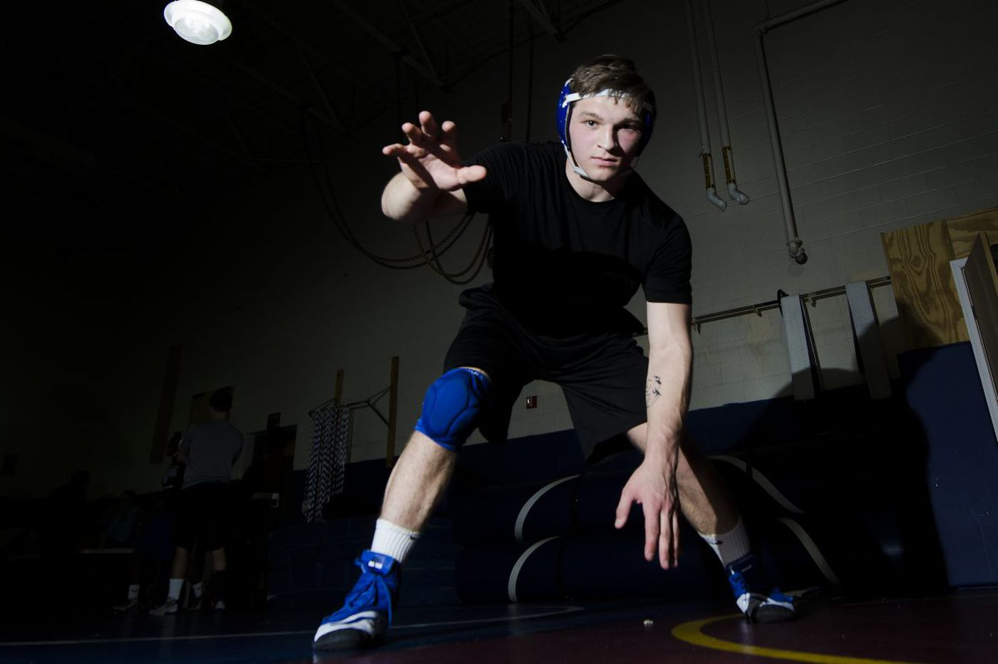 Bryan Martin returns with a bang for Williamstown wrestling
