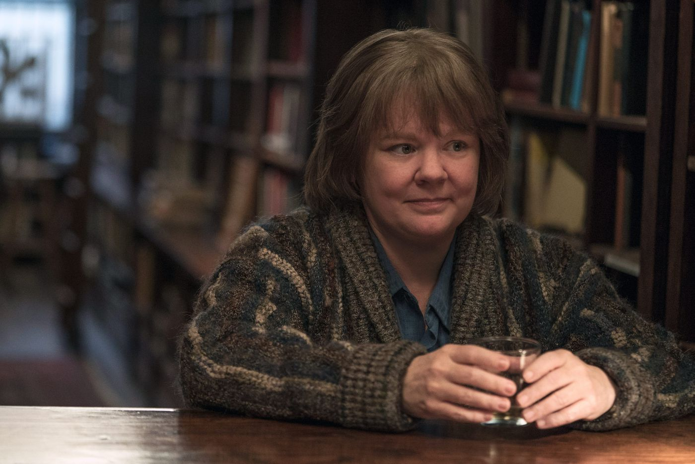 Melissa McCarthy talks about 'Can You Ever Forgive Me?' and why she doesn't care if you call it comedy or drama