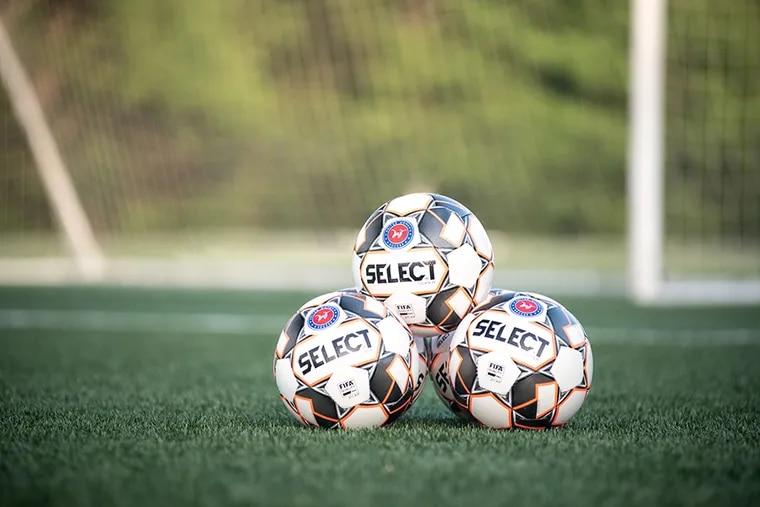 United Women's Soccer game balls.