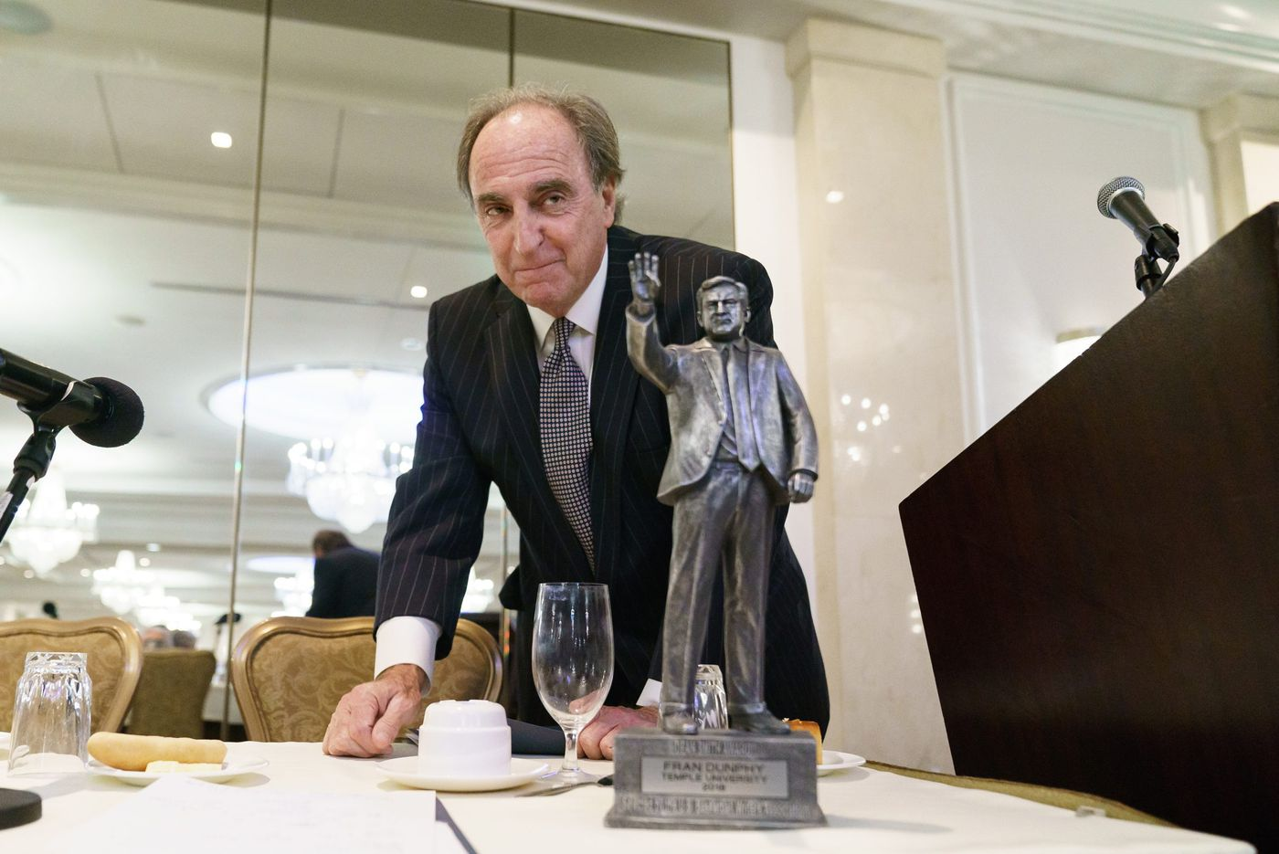 A big award for Fran Dunphy, and why he got it