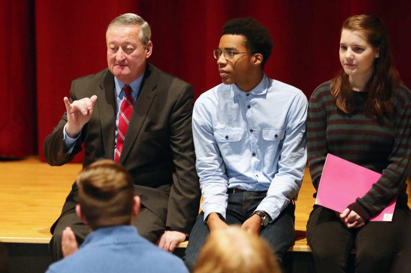 Philly school graduation rates up; mayor promises more progress