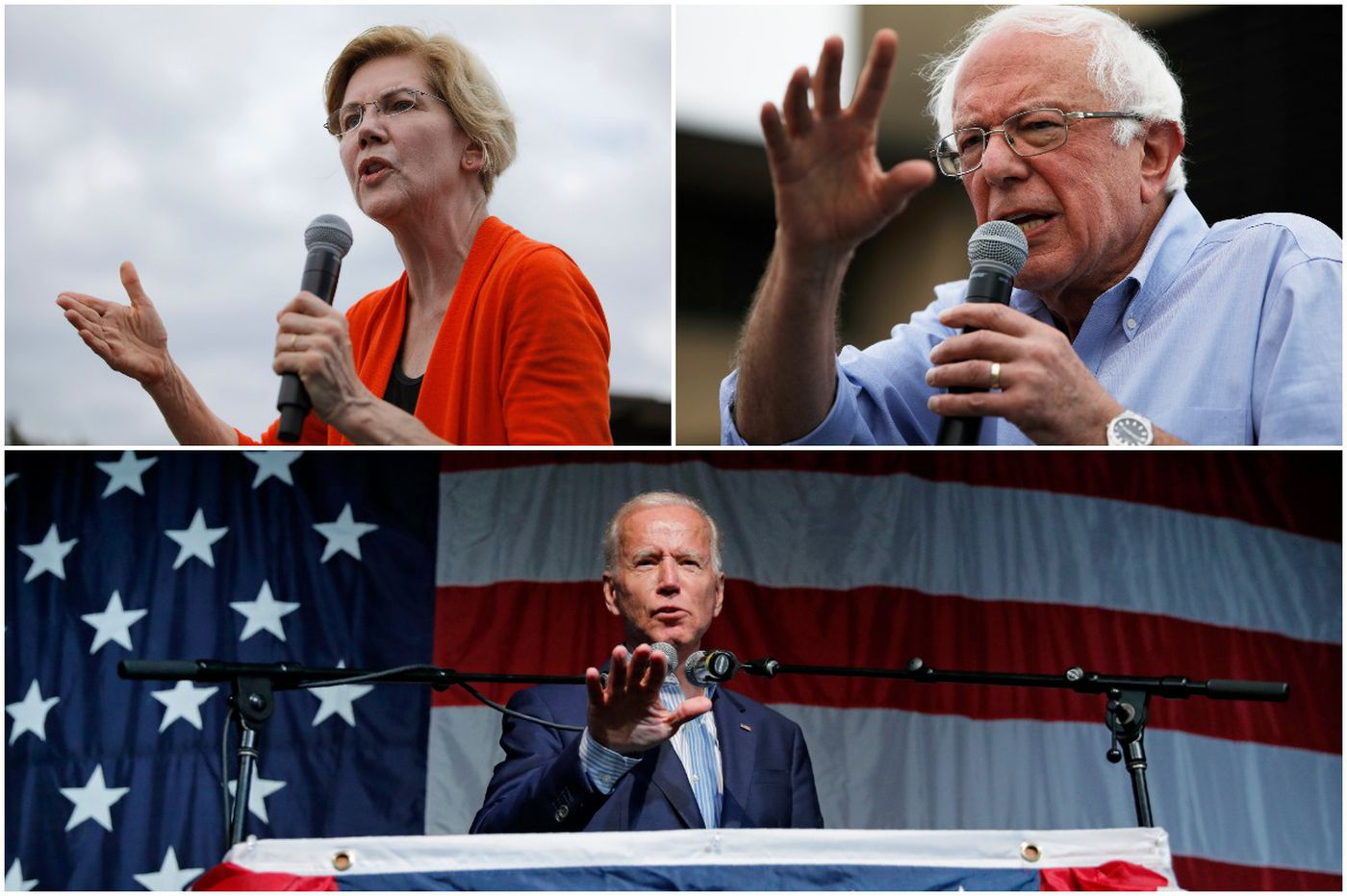 Biden, Warren, and Sanders lead nearly every poll, but insiders say the 2020 Democratic race isn't over