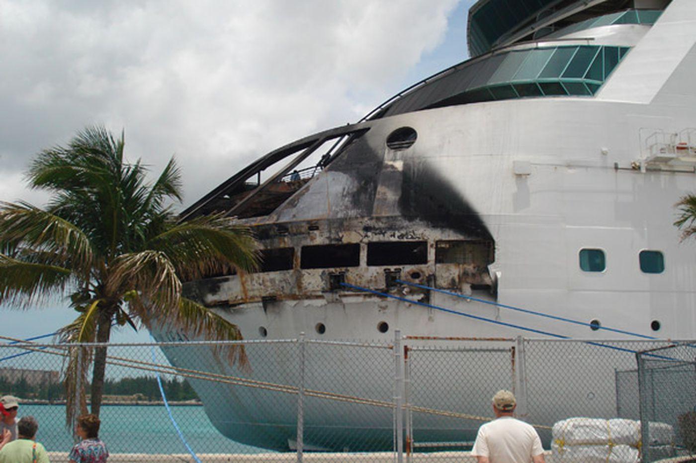 N.J. couple tells of tense time aboard burning cruise ship