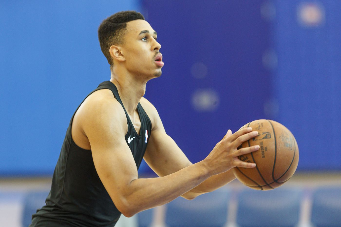 Sixers' Zhaire Smith has come a long way back from injury and illness, motivated by his father