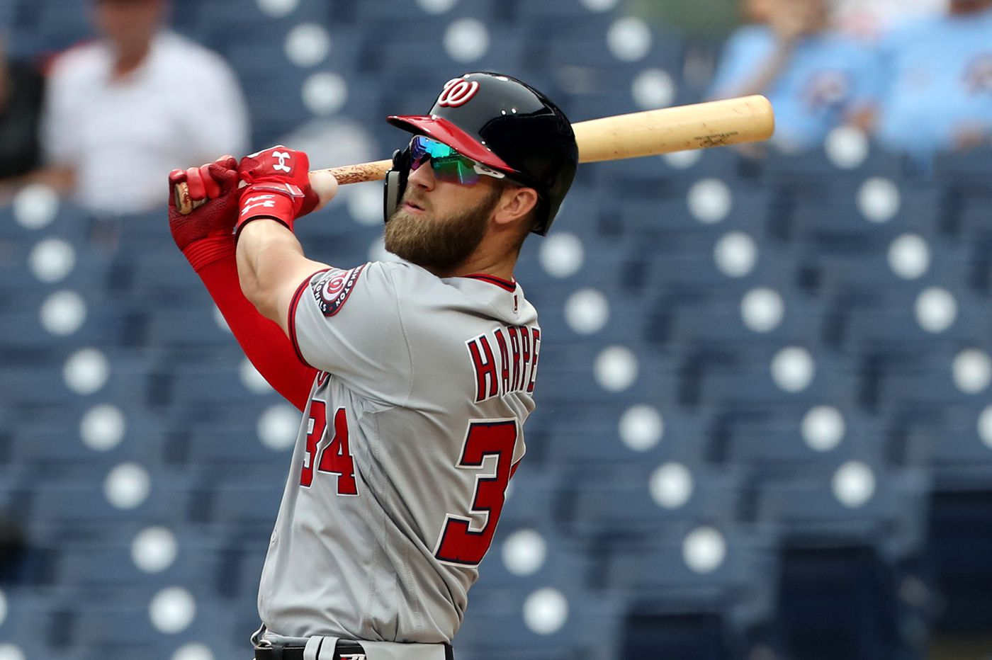 best service 2244f 9f35a Bryce Harper is already selling a massive number of Phillies ...