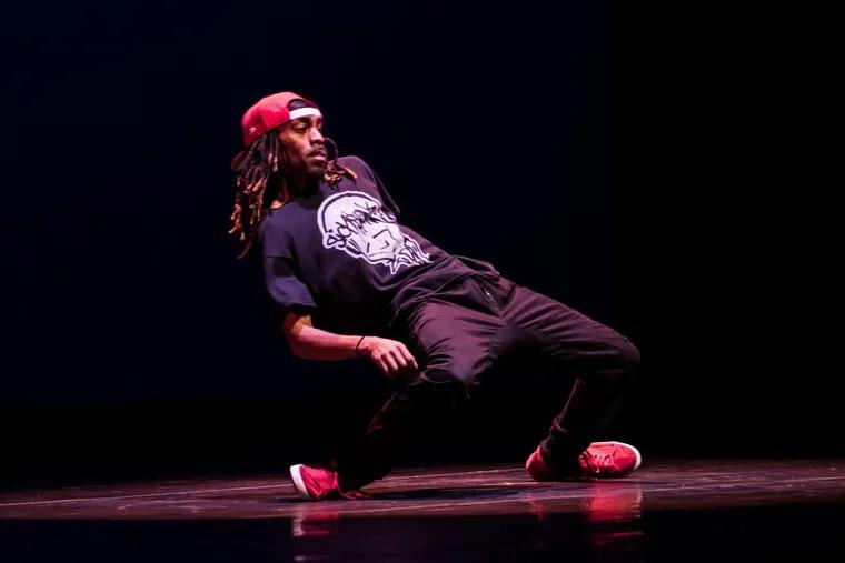 Philadelphia hip-hop choreographer Rennie Harris has a funk show opening off Broadway. (Photo by J. Harris).