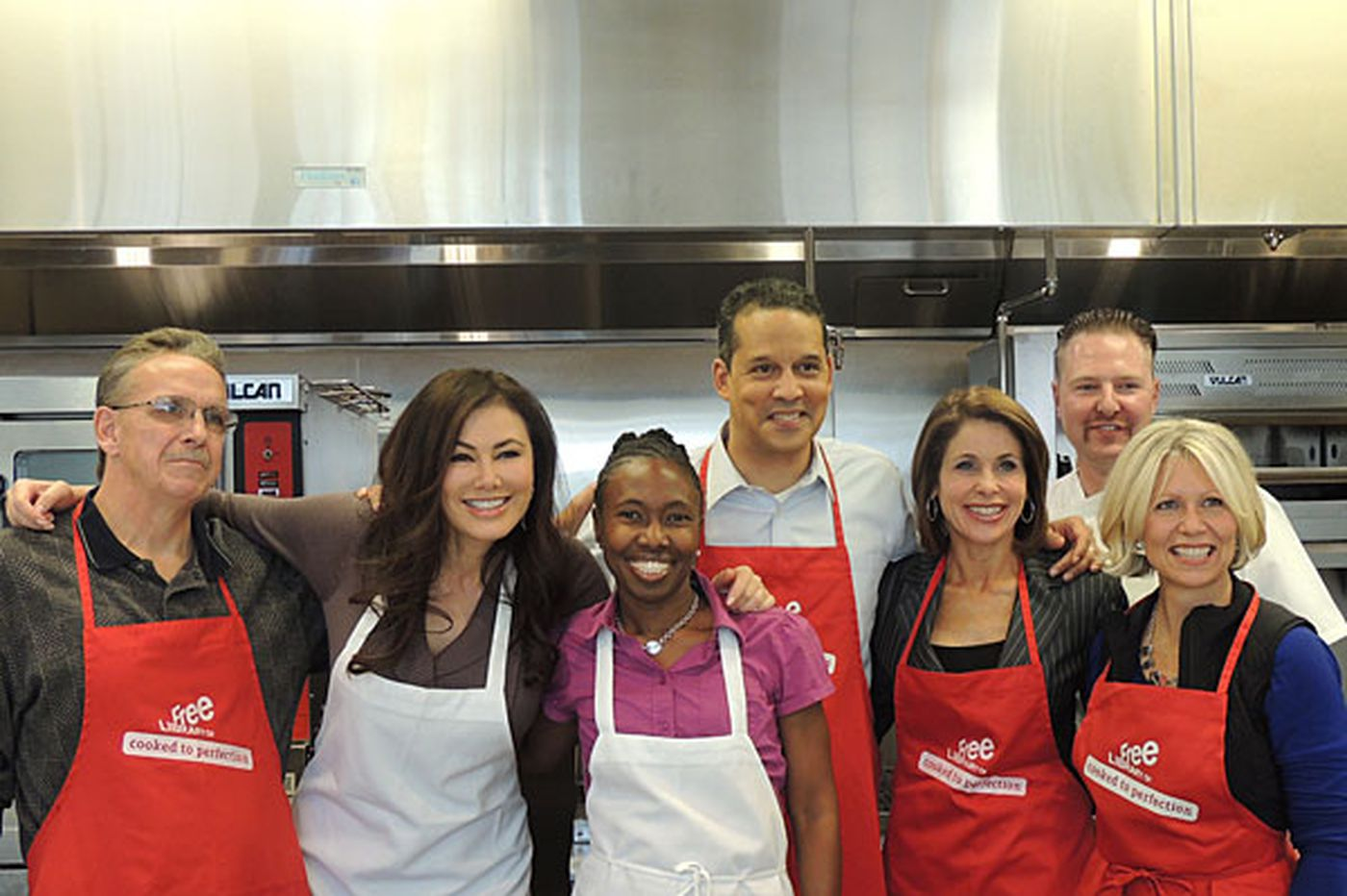 Anchors cook up a storm to ward off cancer