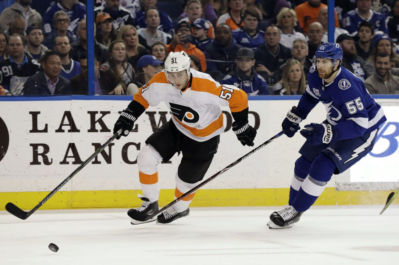 Flyers 5, Lightning 3: Five quick observations