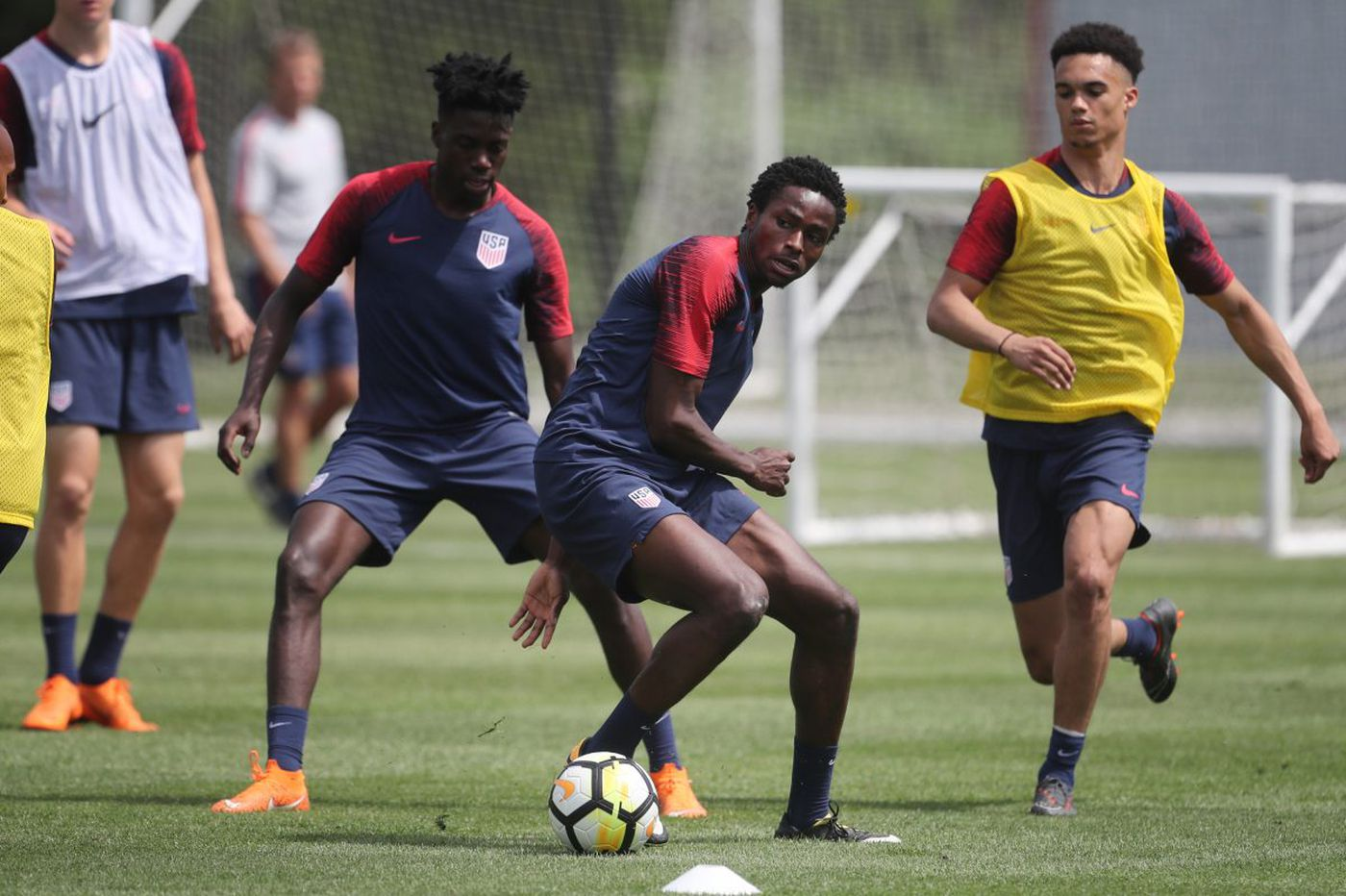 Matthew Olosunde rises from Trenton to Manchester United and U.S. national team