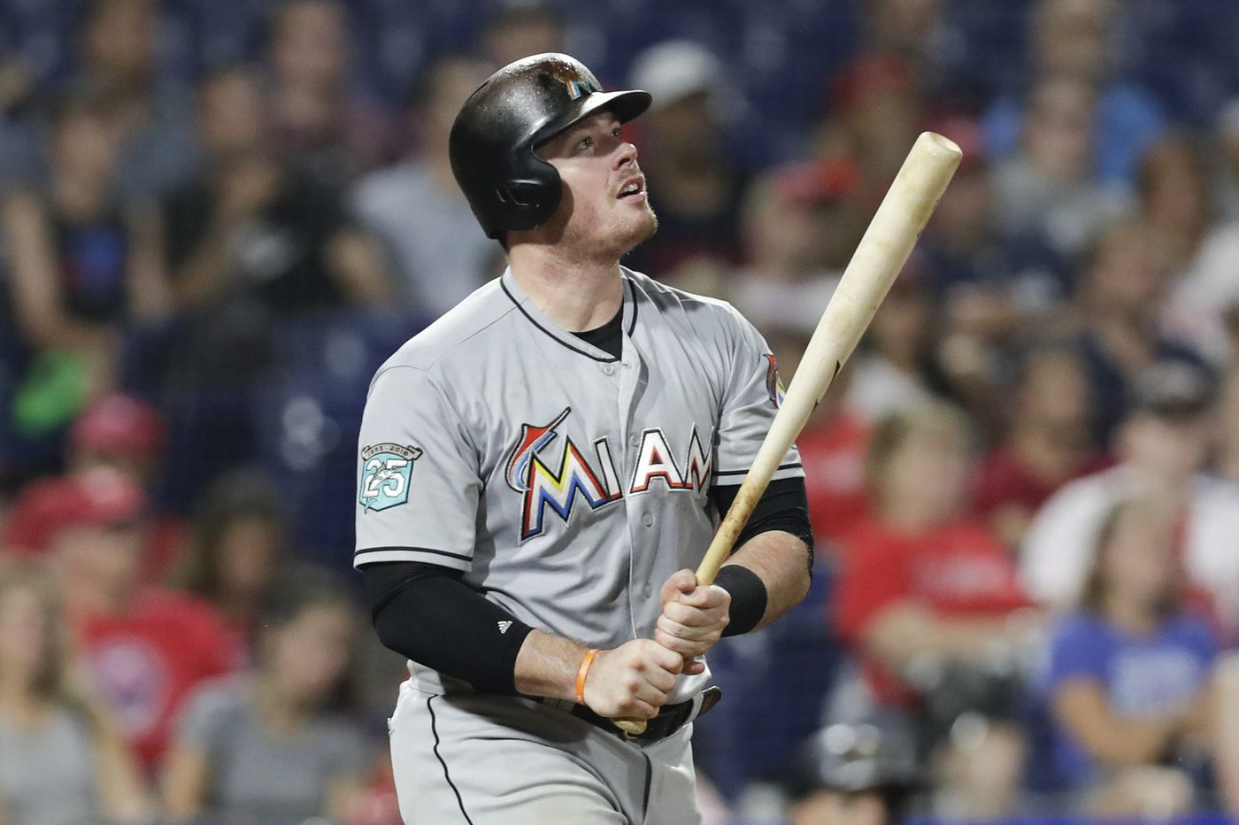 Phillies trade for slugger Justin Bour, adding to their bench