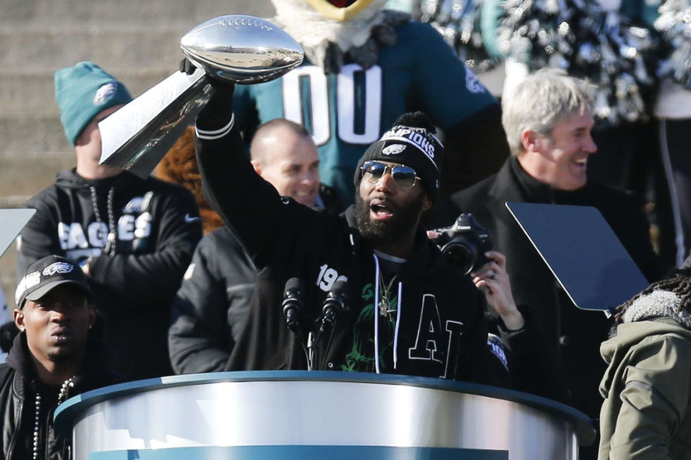 Eagles release safety Malcolm Jenkins after six years with the team