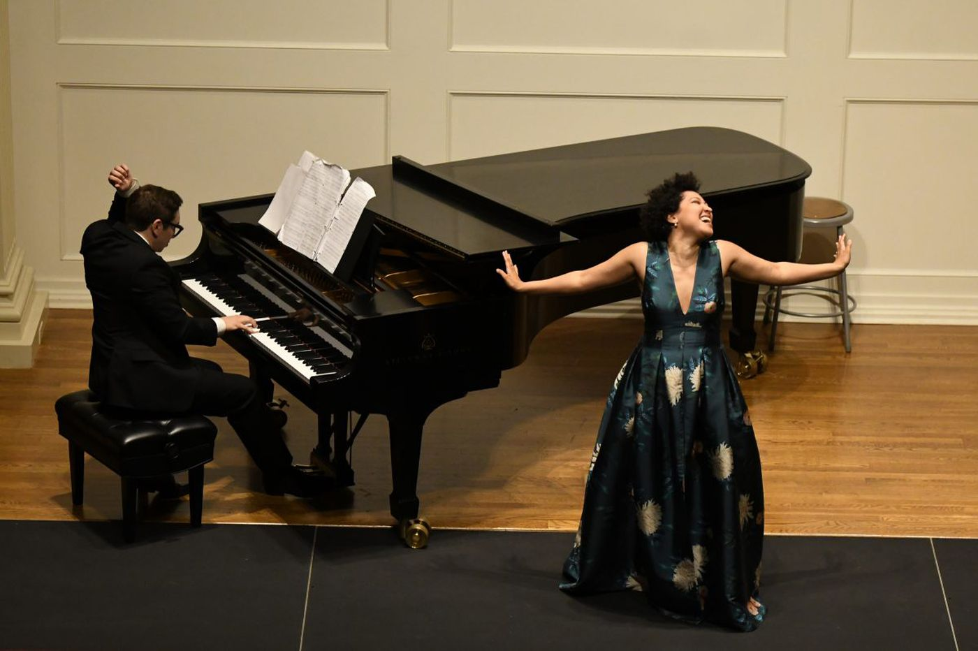 Soprano Julia Bullock and pianist John Arida and the art of the big personality