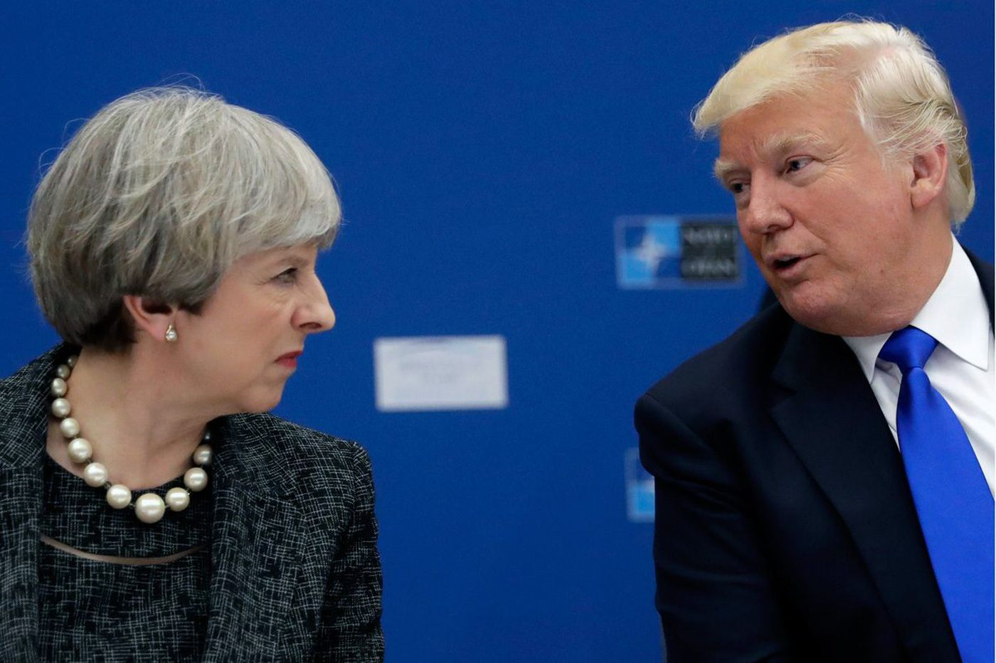 Trump blasted Theresa May on Twitter. Unfortunately, he got the wrong woman