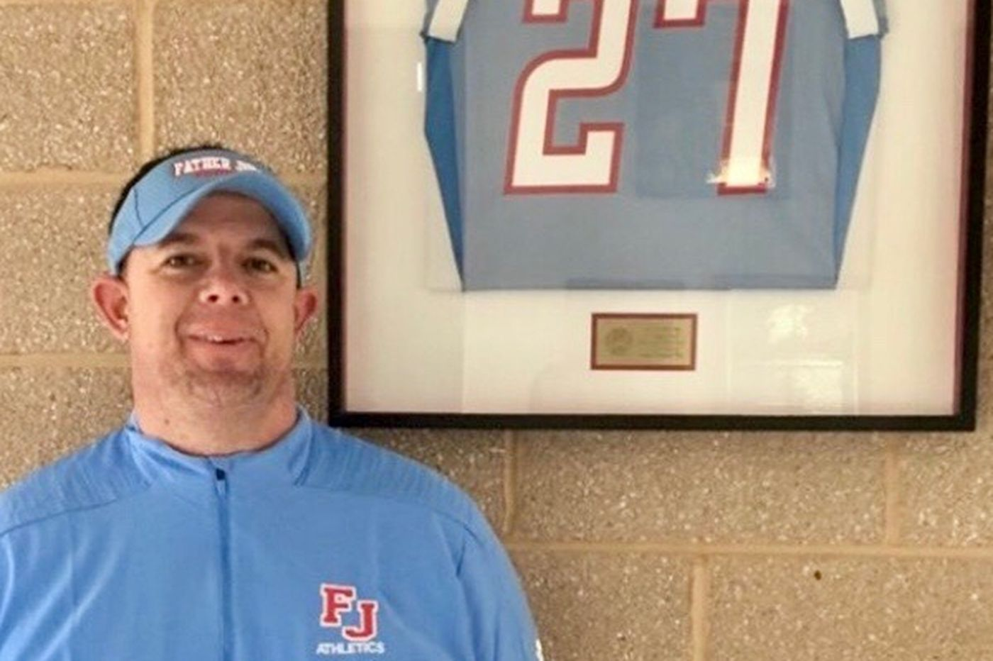 New Father Judge football coach Frank McArdle keeps the game in his family