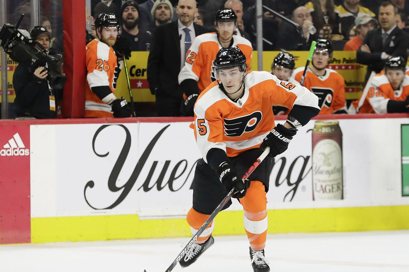 Now healthy, blossoming rookie Phil Myers ready to help Flyers when NHL play resumes