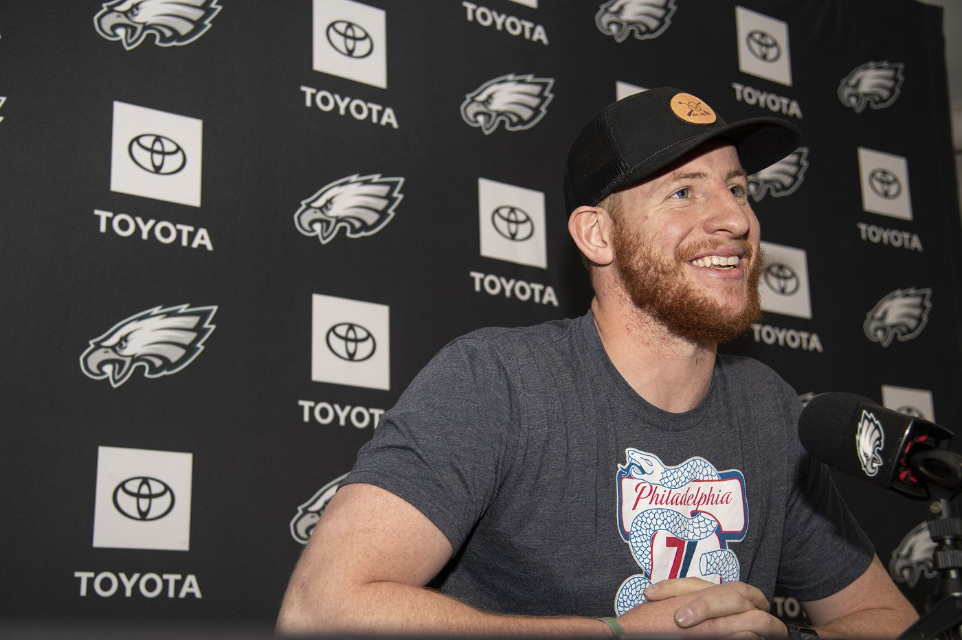 Eagles QB Carson Wentz on Back Injury: 'It's Still Getting There'