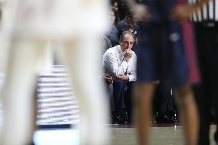 It was the last Big 5 game for Fran Dunphy of Temple and against Penn, the school he coached at the first half of his career on Jan. 19, 2019.